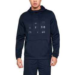 Under Armour Bluza z kapturem FLEECE TEMPO PO HOODIE Granatowa - Granatowy