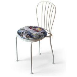 Dekoria Siedzisko Adam na krzesło, samochody retro, fi37 × 8 cm, Freestyle do -30%