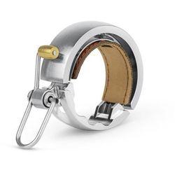 Dzwonek rowerowy Knog Oi Luxe - Large, srebrny