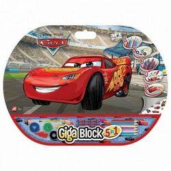 AS GIGA BLOCK Zestaw dla artysty 5w1 Cars