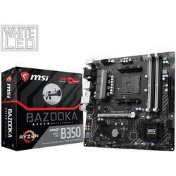 Płyta główna MSI B350M BAZOOKA, B350, DDR4, SATA3, USB 3.1 gen.1, uATX (7A38-001R) Darmowy odbiór w 20 miastach!