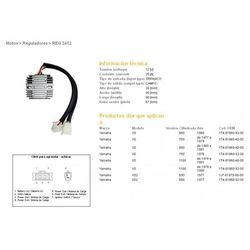DZE REGULATOR NAPIĘCIA YAMAHA XS650/750/850/1100