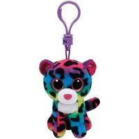 Pluszaki zwierzątka, Beanie Boos Kolorowy leopard Dotty 8,5 cm Clip