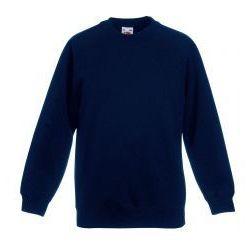 Dziecięca bluza Raglan Sweat Fruit of the loom - kolor ciemny granat/deep navy