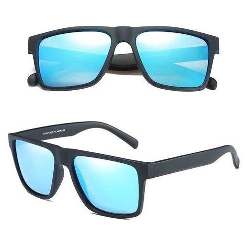 Okulary przeciwsłoneczne, Okulary przeciwsłoneczne polaryzacyjne męskie blue