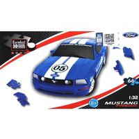 Puzzle, Puzzle 3D Cars - Ford Mustang - poziom 3/4 G3