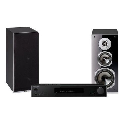 Kino domowe, Zestaw stereo ONKYO TX-L20 + QUADRAL Argentum 530 Czarny