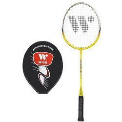 Rakietka badminton WISH JR-373 żółta