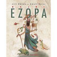 Książki dla dzieci, Bajki Ezopa - Jiri Zacek (opr. twarda)