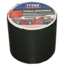 Taśma dekarska Tytan 10x30 cm brąz ciemny