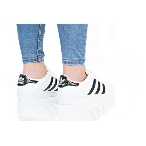 Obuwie sportowe dziecięce, adidas Originals SUPERSTAR J Tenisówki i Trampki footwear white/core black