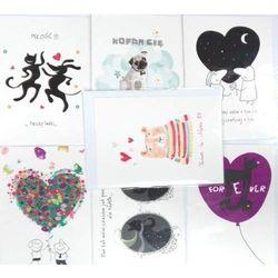 Karnety Miłość Mix 10 wzorów 20 sztuk