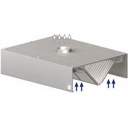 Okap centralny skrzyniowy 1600x2200x450 mm   STALGAST, 9820922160