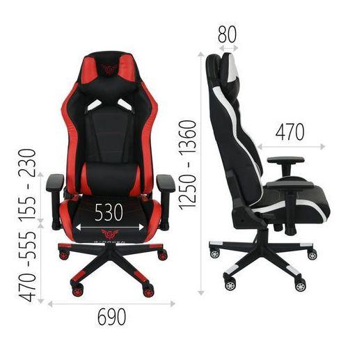 Fotele dla graczy, Fotel Gamingowy G-Racer 4U Dla Gracza zielony