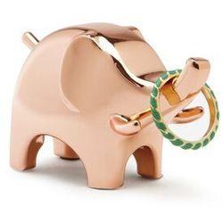 Umbra - stojak na biżuterię anigram słoń - miedziany