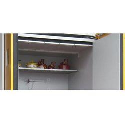 Półka wkładana z rusztu kratowego do szafy na beczki, szer. x głęb. 1550x1025 mm
