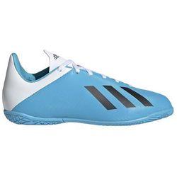 Buty halowe adidas X 19.4 IN JUNIOR niebiesko białe F35352