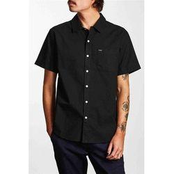 koszula BRIXTON - Charter Oxford S/S Wvn Black (BLACK) rozmiar: M