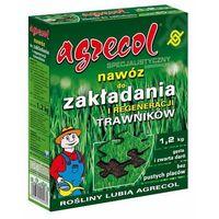 Odżywki i nawozy, Nawóz do zakładnia i regeneracji trawnika Agrecol 1,2 kg