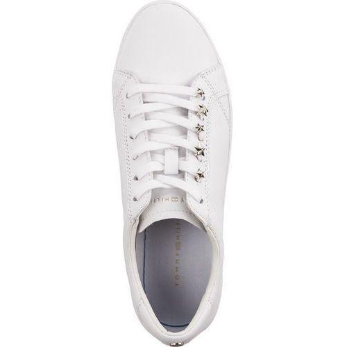 Suknie i sukienki, Buty Tommy Hilfiger STAR JEWEL DRESS SNE FW0FW03218-100 WHITE