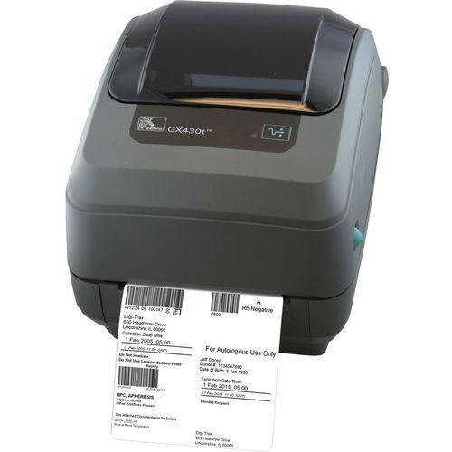 Drukarki termiczne, Drukarka etykiet Zebra GX430t