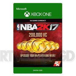 NBA 2K17 - 200000 VC [kod aktywacyjny]
