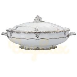 Royal Crown Derby Elizabeth Platinum Waza 2 l.