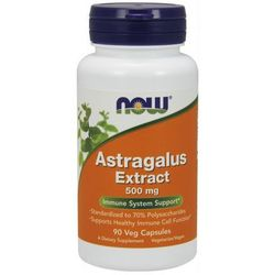 Now Foods Astragalus extract standaryzowany 90 kaps.