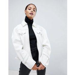 ASOS Corset Detail Jacket - White