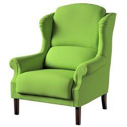 Dekoria Fotel Unique, Spring Green (limonkowa zieleń), 85 × 107 cm, Cotton Panama