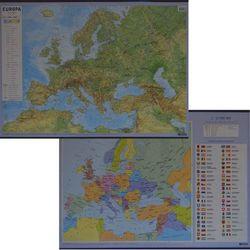 Europa ścienna mapa podręczna