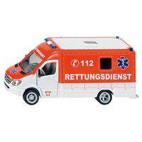 Ambulanse dla dzieci, Zabawka SIKU Karetka Pogotowia + Zamów z DOSTAWĄ JUTRO!