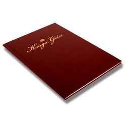 Księga gości weselnych w bordowej oprawce - 1 szt.