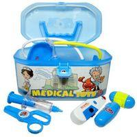 Pozostałe zabawki edukacyjne, Zabawka SWEDE G1045 Zestaw lekarski z kuferkiem + DARMOWY TRANSPORT!