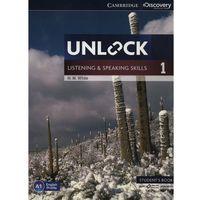 Książki do nauki języka, Unlock: Listening & Speaking Skills 1. Podręcznik + Online Workbook (opr. miękka)