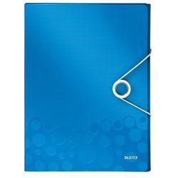 Teczka z gumką Leitz Wow A4 4629-36 niebieska