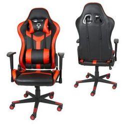 Fotel Gamingowy SK Design Czerwony SKG002 C - Czerwony   Czarny