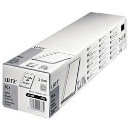 Grzbiet wsuwany LEITZ 15mm - czarny 21791