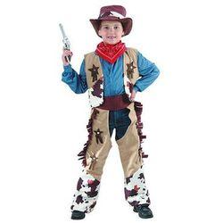 Wysokiej jakości kostium dziecięcy Kowboj - L - 130/140 cm