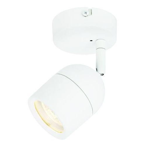Pozostałe oświetlenie wewnętrzne, Spot kinkiet łazienkowy Colours Genlis 1 x 20 W GU10 IP44 biały