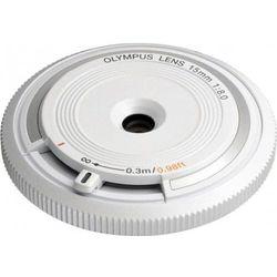 Olympus Body Cap Lens 15 mm f/8.0 - biały