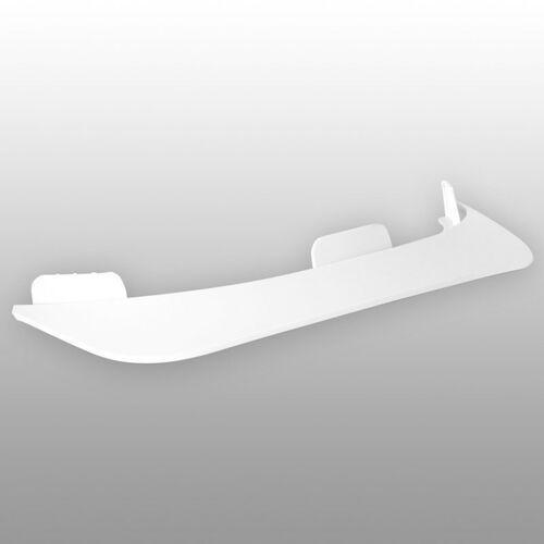Ochraniacze na ciało, daszek TSG - Evolution Visor Abs White 160 (160)
