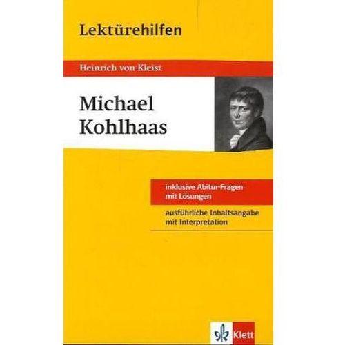 Pozostałe książki, Lektürehilfen Heinrich von Kleist 'Michael Kohlhaas' Gräff, Thomas