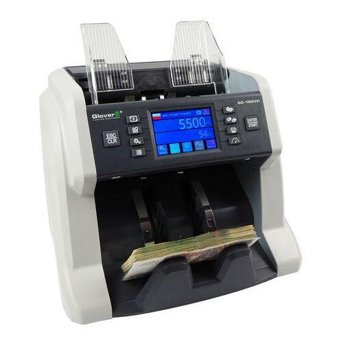Liczarki do banknotów, Liczarka wartościowa do banknotów Glover GC-150 VC 2xCIS + SUPER RABAT % - Autoryzowana dystrybucja