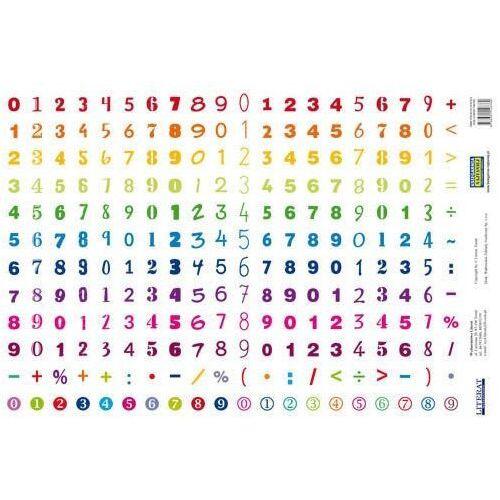Naklejki, Naklejki Cyfry (240 naklejek)