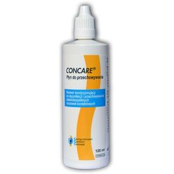 Concare Aufbewahrung 120 ml. do przechowywania twardych soczewek