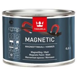TIKKURILA MAGNETIC- farba magnetyczna, 0.5 l