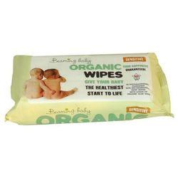 - BEAMING BABY - Organiczne Chusteczki Nawilżane - do skóry bardzo delikatnej