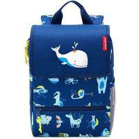 Tornistry i plecaki szkolne, Plecak dla dzieci Backpack Kids abc friends Reisenthel niebieski (RIE4066)
