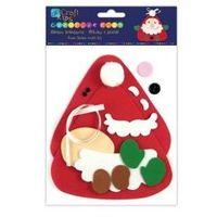 Kreatywne dla dzieci, Zestaw kreatywny mikołaj z pianki KSPI-118